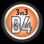 Mise en forme 3vs3 B4 3vs3